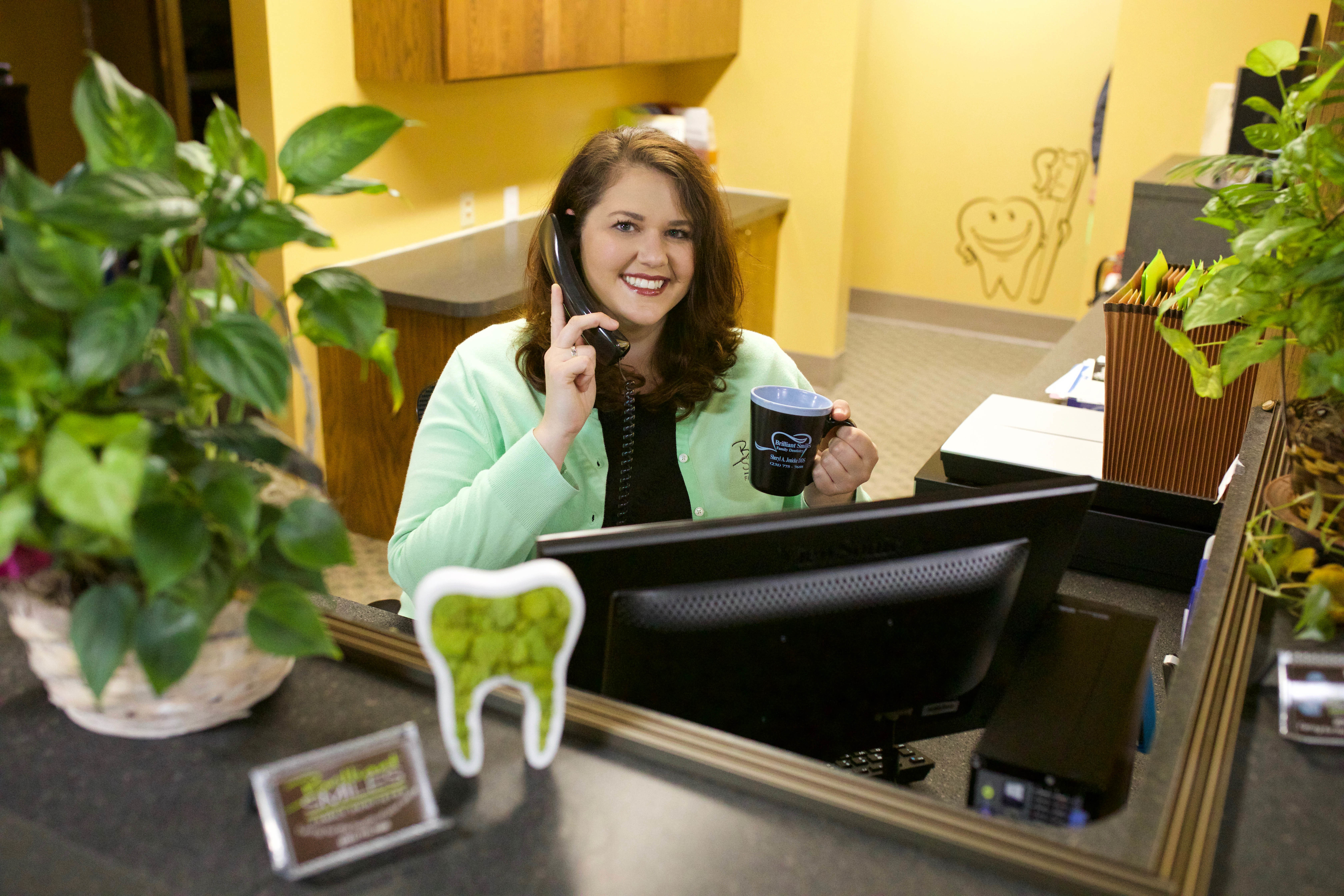 Kari- Our Patient Care Coordinator. The friendly voice you first hear on the phone!